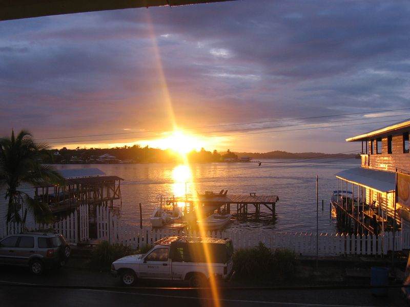 The Best Sunrises: Bocas del Toro Panama