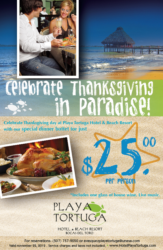 Celebrate Thanksgiving in Paradise!